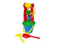 Игрушка пластмассовая для игры с песком или водой Мельница 2 2742
