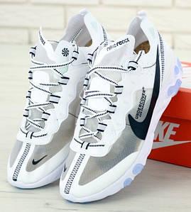 Мужские Кроссовки Undercover X Nike React Element 87 White