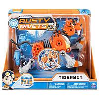 Расти механик Тигрбот тигр-конструктор со световыми и звуковыми эффектами