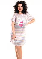 Женская ночная сорочка -туника ,подходит для дома и сна,большой размер ..2хл..3хл..4xl