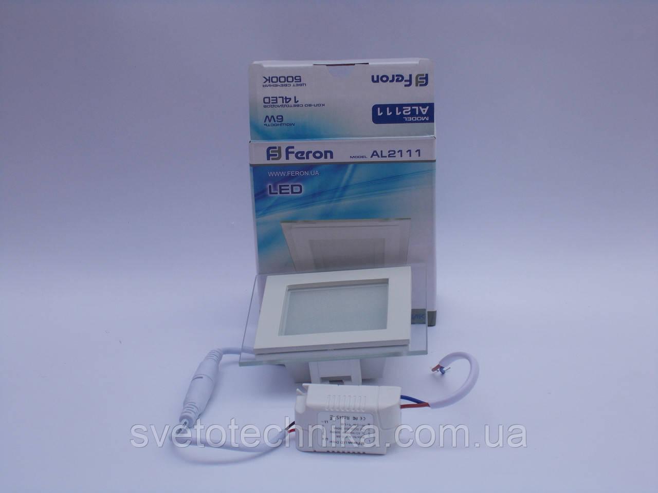 Светодиодная панель Feron AL2111 6W 5000K