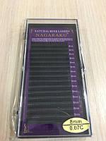 Ресницы Nagaraku толщина 0,07 изгиб С длина 8