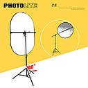 Универсальный держатель для отражателей PHOTOLITE + стойка 2,6 метра., фото 2
