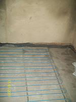 Установка двужильного кабеля в стяжку под плитку.
