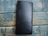 Мужской кошелек для визиток кожа MD 08102 black Визитница
