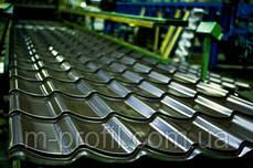 Матовая металлочерепица Monterrey, толщина 0,4, фото 3