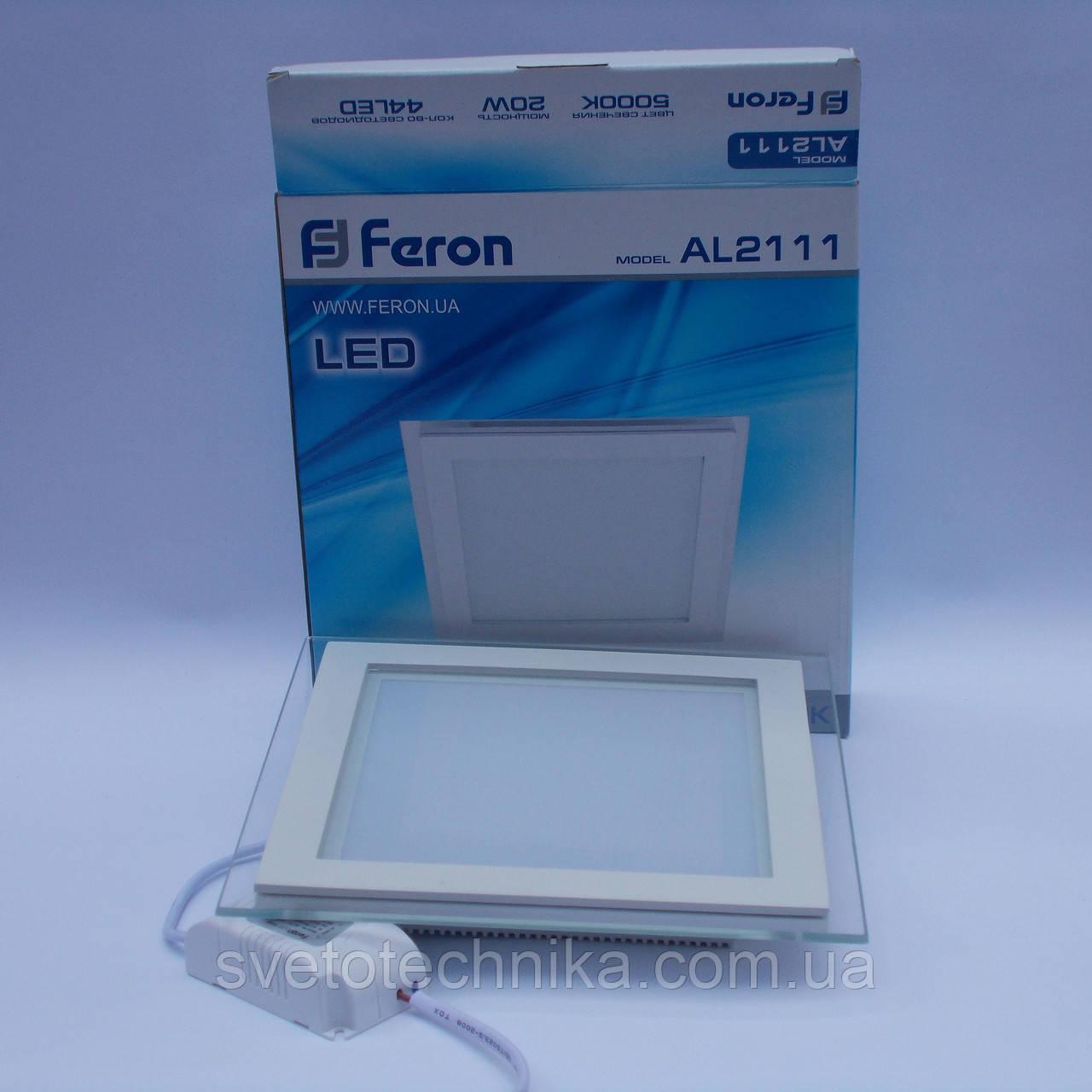Светодиодная панель Feron AL2111 20W 5000K