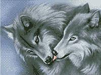 АМС-109. Набір алмазної мозаїки Поцілунок.