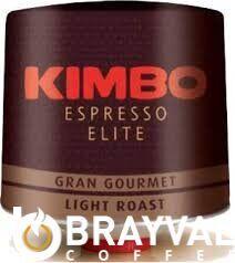 Кофе в зёрнах Kimbo Espresso Elite Gran Gourmet, 1 кг