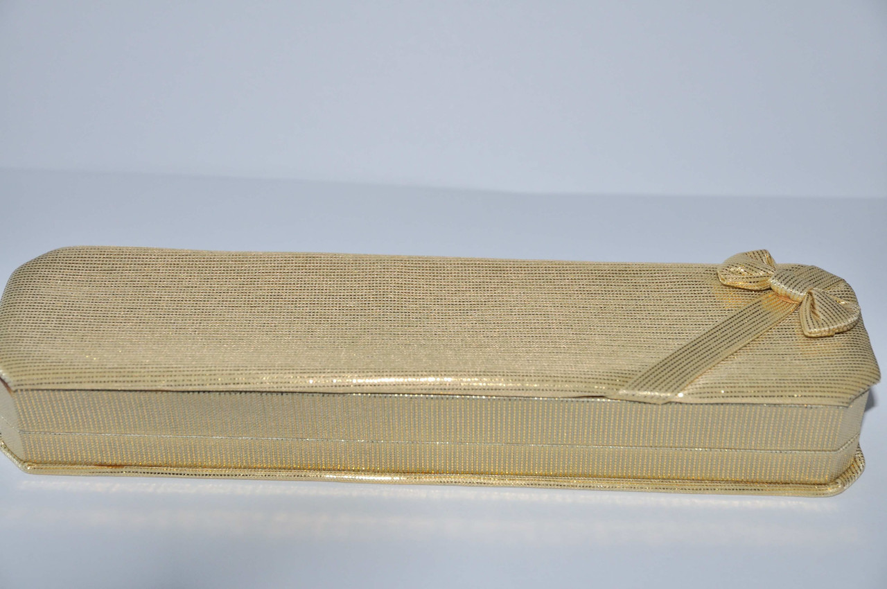 Коробка подпрочная під браслет золота