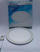 Светодиодная панель Feron AL501 28W 5000K (корпус -белый)