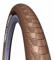 """Велосипедные покрышки """"Rubena"""" 28"""" V99 CITYHOPPER Classic 28""""x2,00 (52x622) коричневый"""