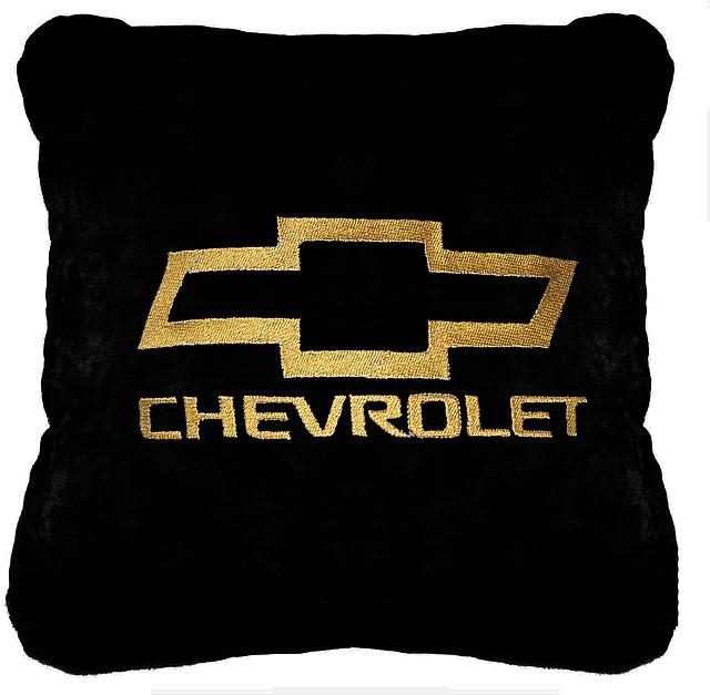 """Подушка в автомобиль с лого """"CHEVROLET"""""""