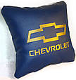"Подушка в автомобиль с лого ""CHEVROLET"", фото 2"