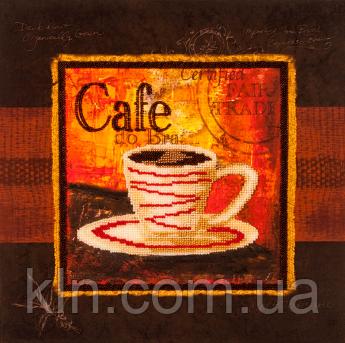 Набор для вышивки бисером FLF-061Чашечка кофе-430*30 Волшебная страна качественный