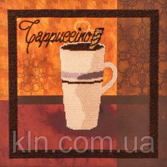 Набор для вышивки бисером FLF-062Cappuccino-130*30 Волшебная страна качественный