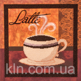 Набор для вышивки бисером FLF-063Latte-130*30 Волшебная страна качественный
