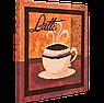 Набор для вышивки бисером FLF-063Latte-130*30 Волшебная страна качественный , фото 2