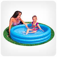 Детский бассейн для улицы и пляжа «Хрустальный» (3 кольца)
