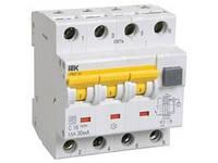 Автоматические Выключатели дифференциального тока АВДТ-34 четырёхполюсные