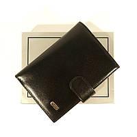 Мужская кожаная документница: автоправа + портмоне Desisan 101 черная, расцветки в наличии