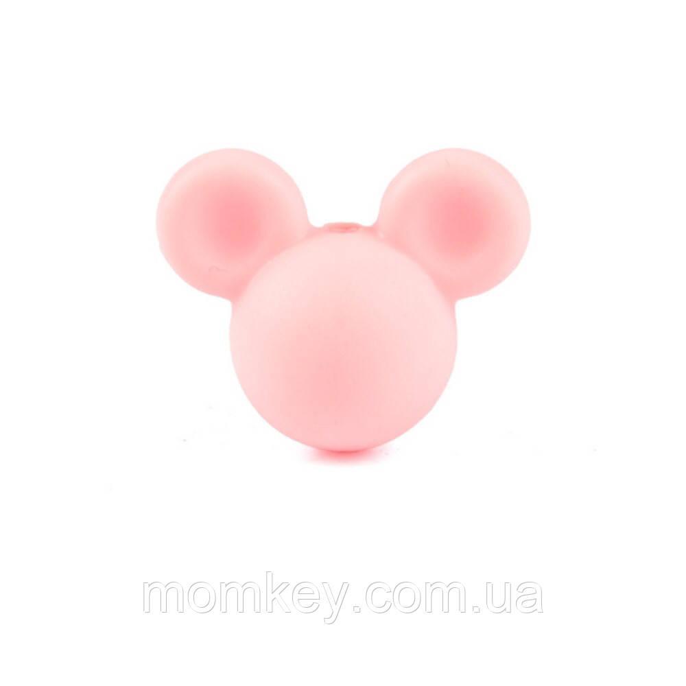 Микки 24*20*15 мм (розовый-кварц)