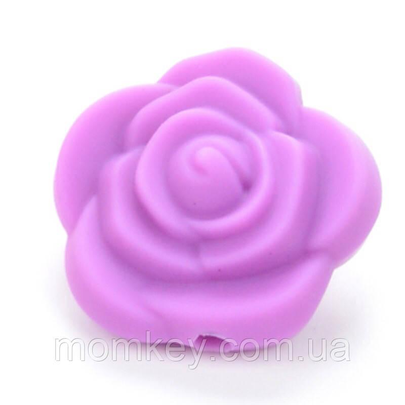 Роза 21*21*19 мм (фиолетовый)