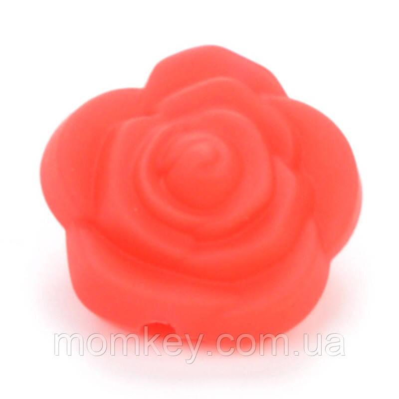 Роза 21*21*19 мм (красный)