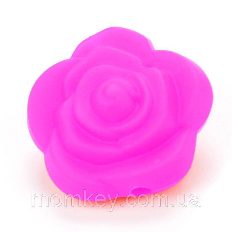 Троянда 21*21*19 мм (малиновий)