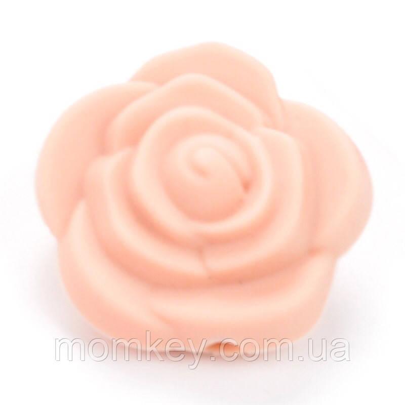 Роза 21*21*19 мм (персиковый)
