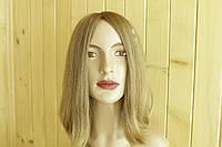 № 2 Женский парик из натуральных славянских волос, русый. Имитация кожи головы.