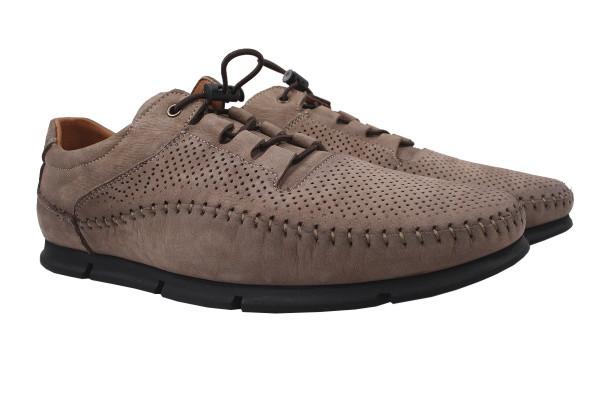Туфли мужские комфорт Copalo натуральный нубук, цвет коричневый