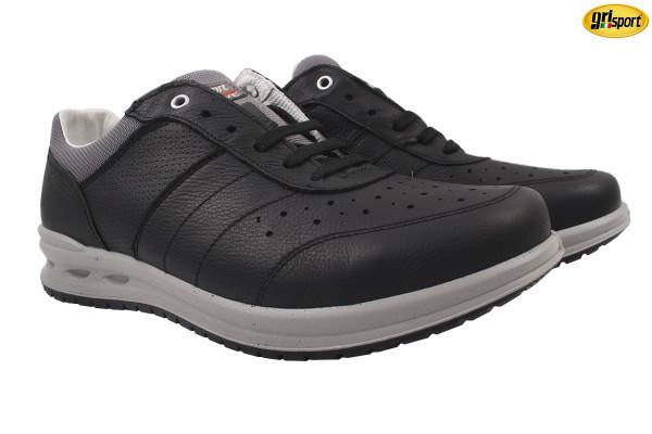 Туфли спорт Grisport натуральная кожа, цвет черный