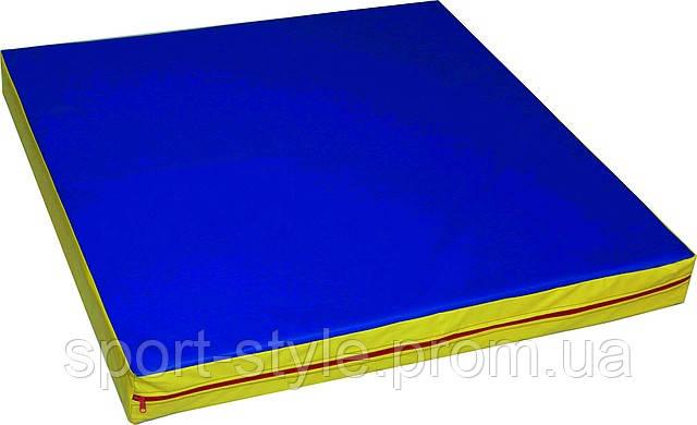 Мат гимнастический М-1; (1х1х0,09 м.)