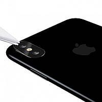 Защитное стекло для объектива камеры для iPhone X/XS/XS Max, 0.2 mm, 9H, противоударное, Camera Lens Glass Film, Baseus (SGAPIPH65-JT02)