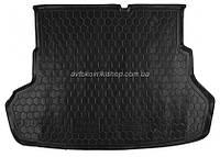 Резиновый коврик багажника Kia Rio 2011- (седан) Avto-Gumm
