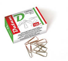 Скрепки DATUM треугольные 25мм 100шт D1720