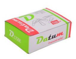 Скрепки DATUM треугольные 28мм 100шт D1722