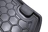 Резиновый коврик багажника Kia Rio 2017- (седан)(российская сборка) Avto-Gumm, фото 6