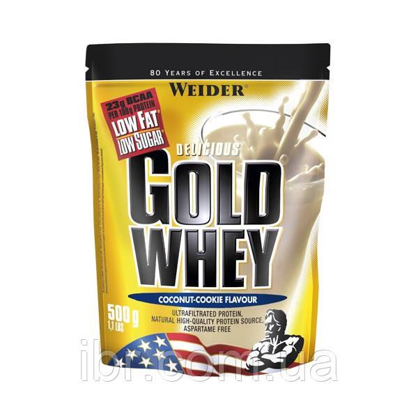 Протеїн WEIDER WHEY GOLD 500 g Coconut - Cookie