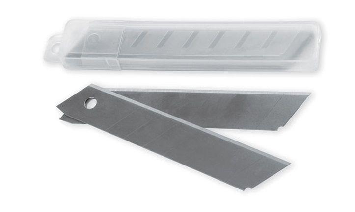 Лезвия для ножа канцелярского 18 мм 10 шт.