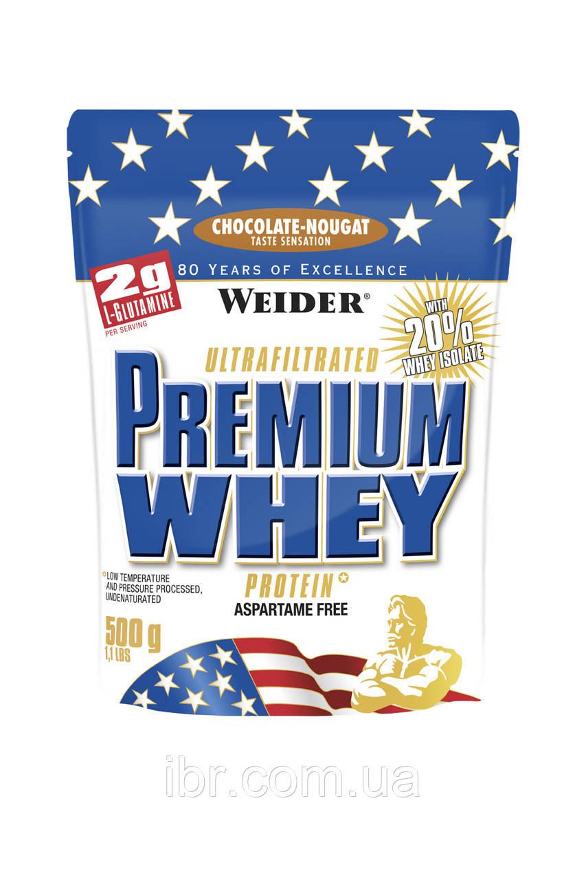 Протеин WEIDER PREMIUM WHEY 500 g Chocolate - Nougat