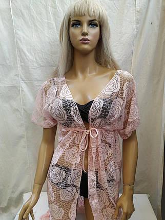 Туника Амфора 161000 розовый (есть 46 48 50 52 54 размеры), фото 2