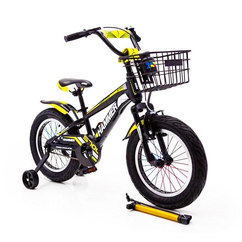 """Детский Велосипед с широкими колесами 16 """"HAMMER"""" S700"""