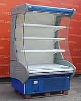 Холодильная горка (Регал) «Технохолод Индиана» 1.4 м. (Украина), новый компрессор, Б/у, фото 1