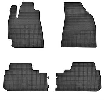Коврики в салон резиновые для Toyota Highlander 2007-2013 Stingray (4шт)
