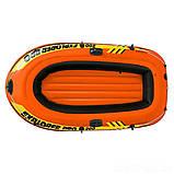 Полутораместная надувная лодка Intex 58356 Explorer Pro 200, 196 х 102 х 33 см, фото 2