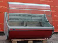 Холодильная витрина кондитерская «Технохолод ВКХ-Флорида» 1.6 м. (Украина), широкая выкладка 78 см., Б/у, фото 1