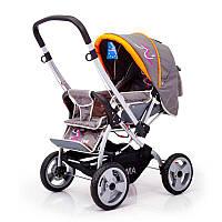Детская прогулочная коляска с перекидной ручкой Sigma H-538EF
