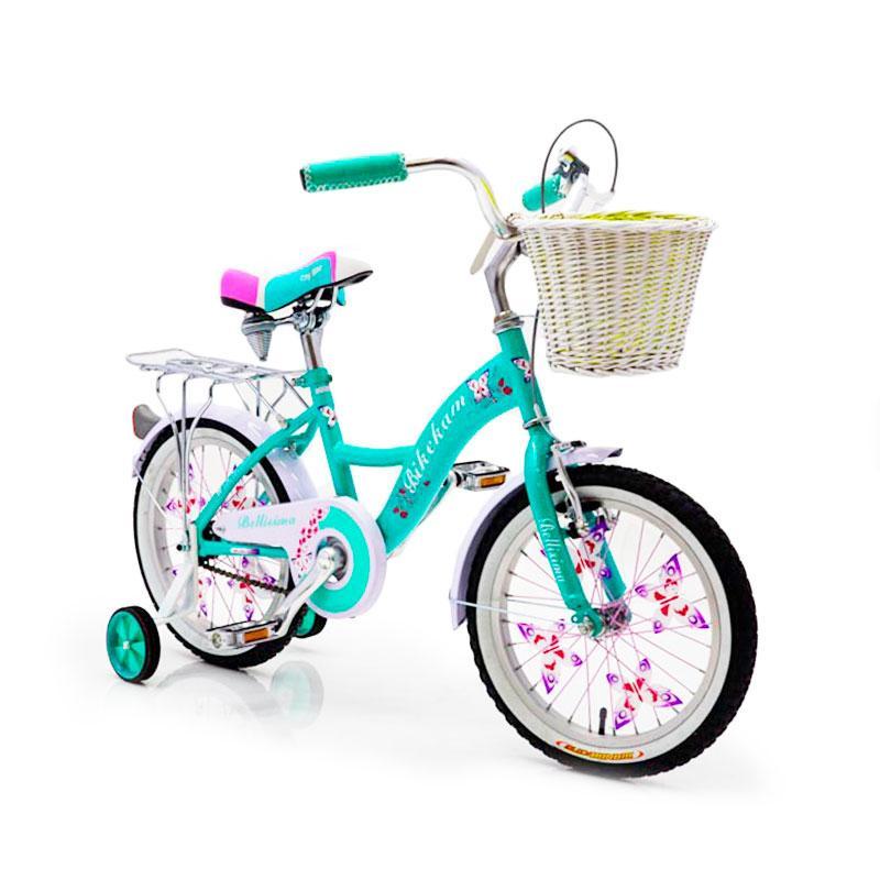 """Детский Велосипед с корзинкой 16 """"BELLISIMA""""  Алюминиевый"""